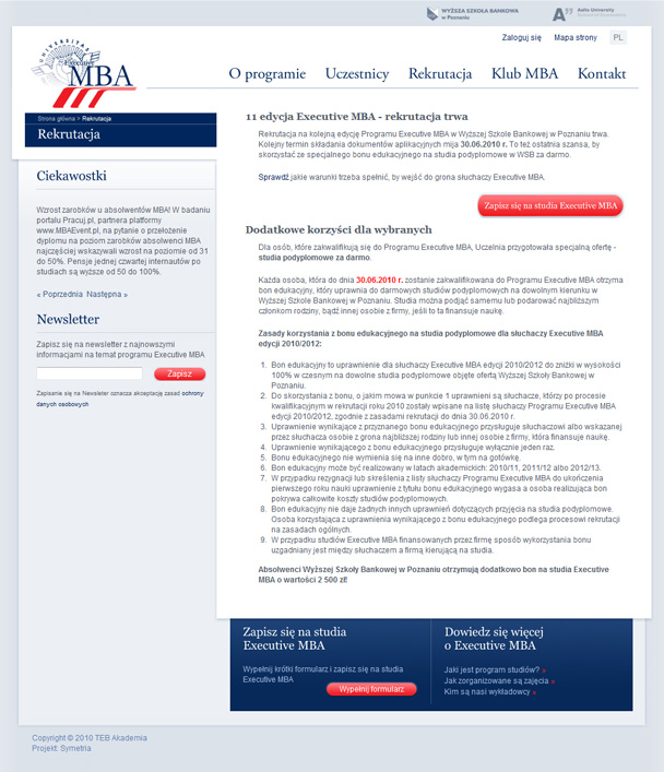 Program Executive MBA w Poznaniu